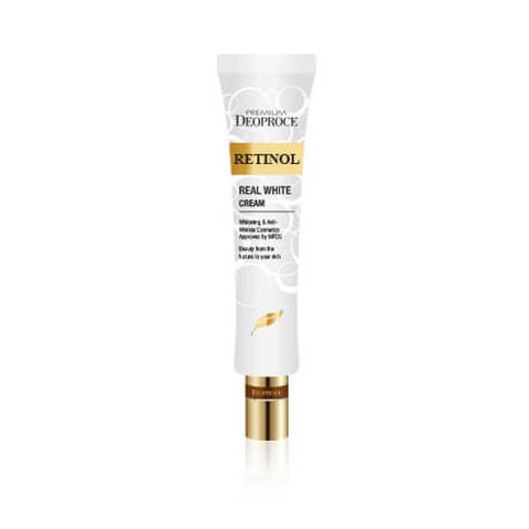 Крем с ретинолом для век и носогубных складок Premium Deoproce Retinol Real White Cream