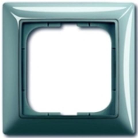 Рамка на 1 пост. Цвет синий. ABB(АББ). Basic 55(Бейсик 55). 1725-0-1521