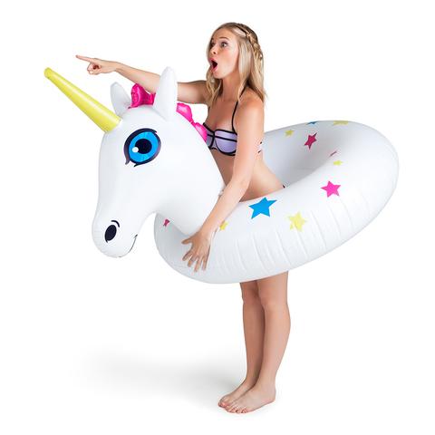 Круг надувной bigmouth, unicorn