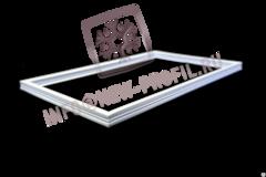 Уплотнитель 62*37 см для холодильника ЗиЛ 65 (средняя камера) Профиль 013
