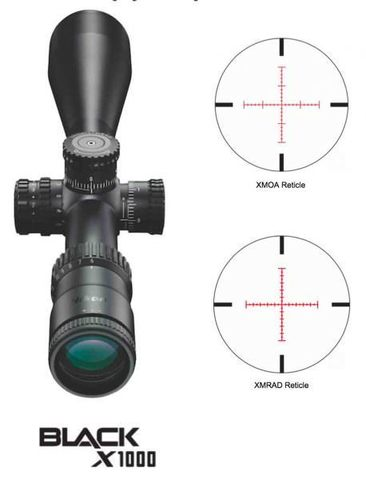 Nikon BLACK X1000 4-16x50SF Matte Illuminated X-MRAD