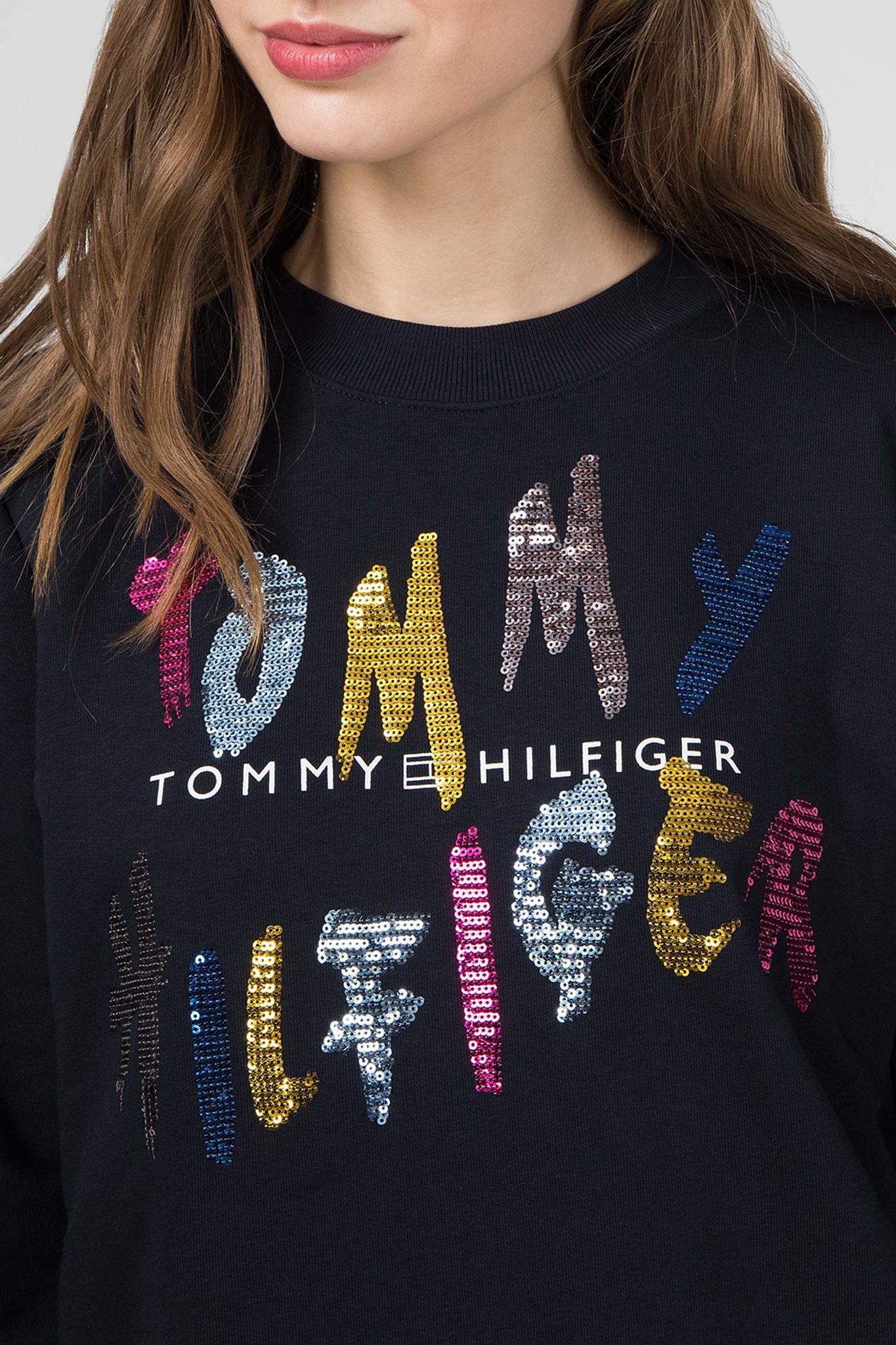 Женский темно-синий свитшот ROXY C-NK Tommy Hilfiger