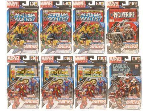 Secret Wars Comic Two-Packs 2011 Series 02