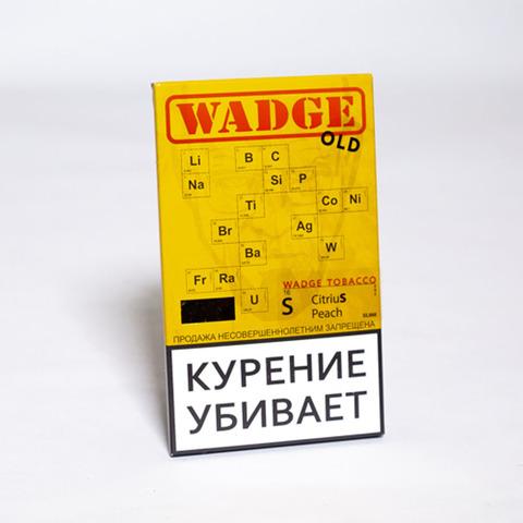 Табак WADGE OLD 100gr CITRIUS PEACH