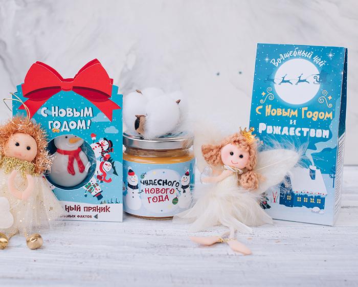 Купить подарочный набор чай мед пряник в Перми