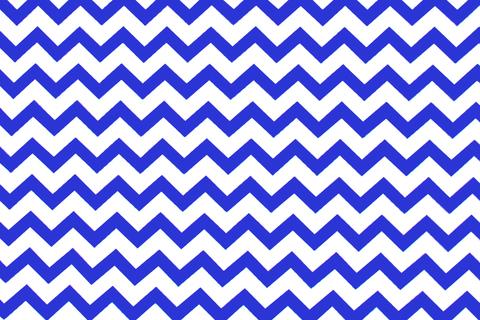 """Постельное белье """"Зигзаги синие"""""""