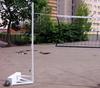 Стойки волейбольные с противовесами по 60 кг. (волейбол, теннис, бадминтон)