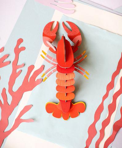 Бумажная фигура Lobster