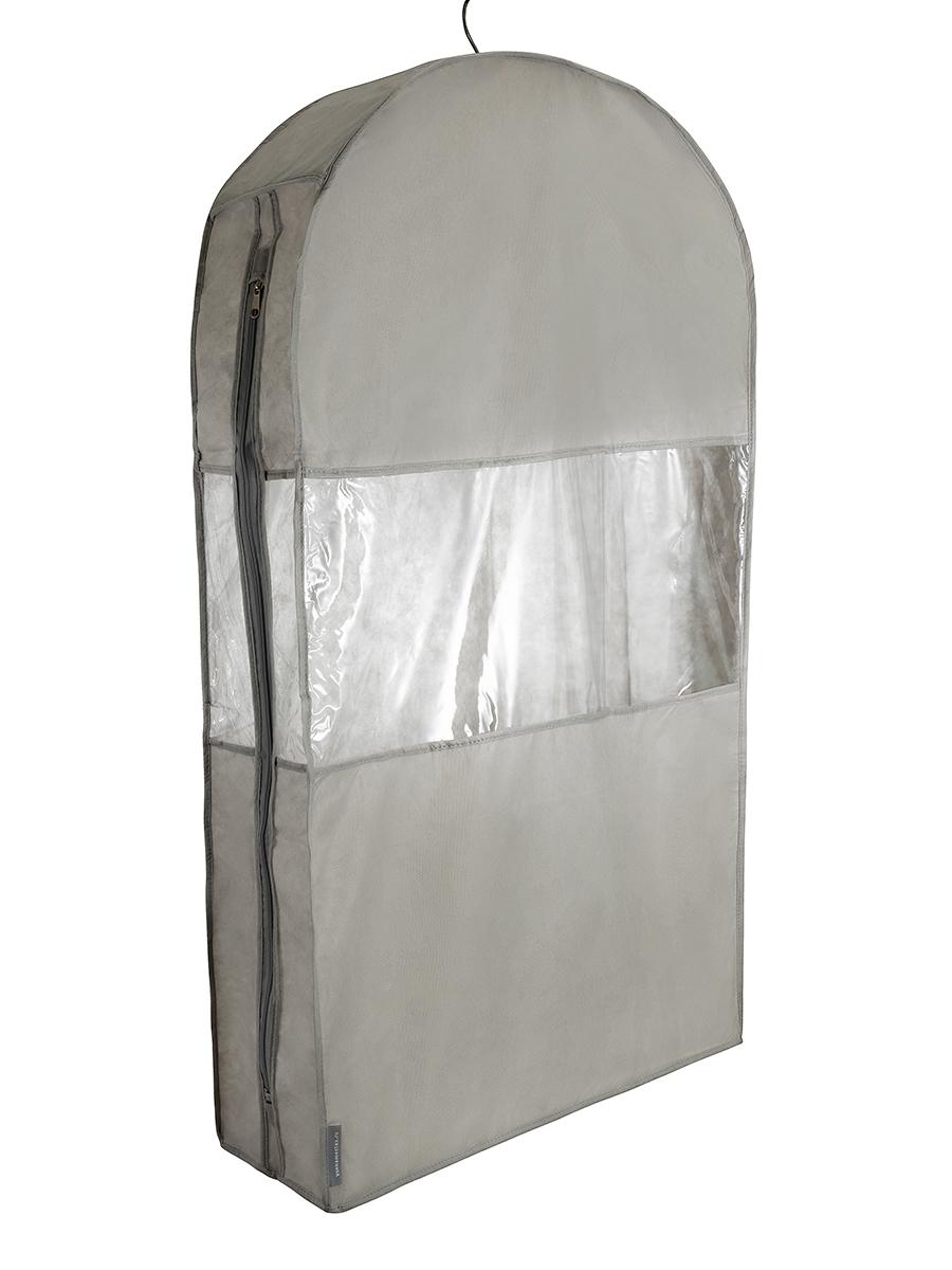 Чехол для шуб LUX короткий 100х60х18 см, Лондон