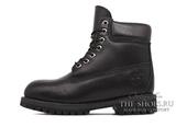 Ботинки Мужские Timberland 10061 Waterproof Black Leather с Мехом