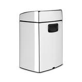 Прямоугольный мусорный бак Touch Bin (10 л), артикул 477201, производитель - Brabantia, фото 2