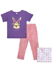 10833 пижама для девочек, фиолетовая