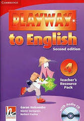 Playway to English (Second Edition) 4 Teacher's Resource Pack with Audio CD