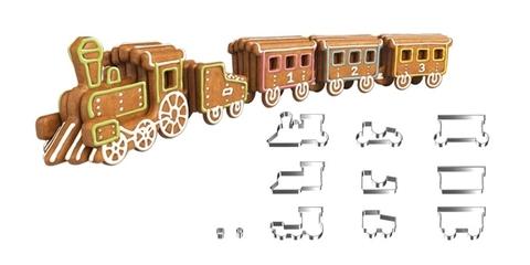 Пряничный поезд Tescoma DELICIA KIDS, набор формочек