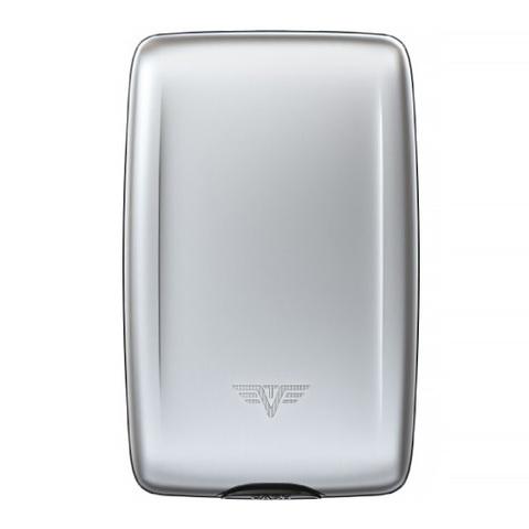 Кошелек c защитой Tru Virtu Oyster 2, серебристый, 110x69x28 мм