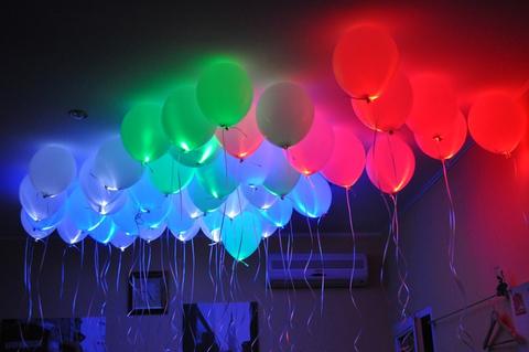 Светящиеся шары 12