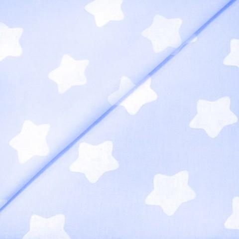 Бязь плательная 150 см 1737/3 цвет голубой