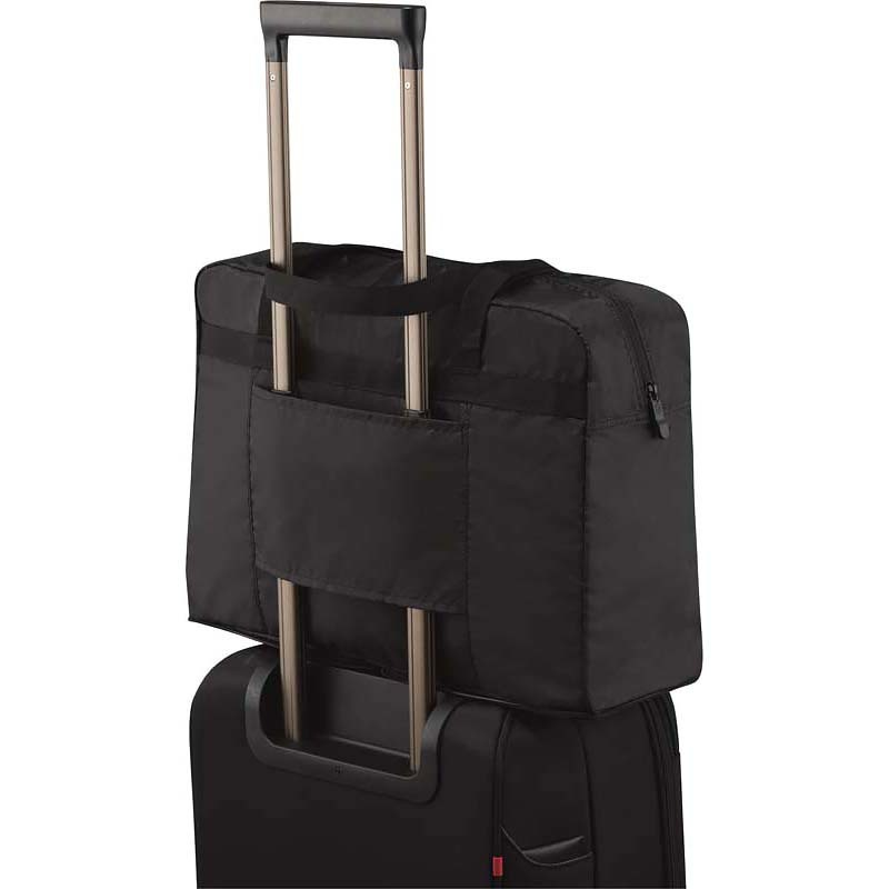 Складная сумка Victorinox Lifestyle & Travel Accessories, цвет черный (31375001) 29x14x42 см., 17 л. | Wenger-Victorinox.Ru