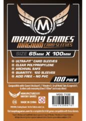 Протекторы для настольных игр Mayday Magnum 7 Wonders (65x100) - 100 штук