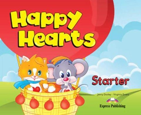Happy Hearts Starter Pupil's Book (+ Stickers & Press Outs)