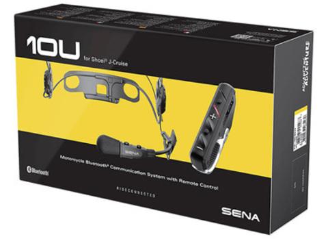 Bluetooth мотогарнитура с дистанционным управлением на руль SENA 10U для J-Cruise
