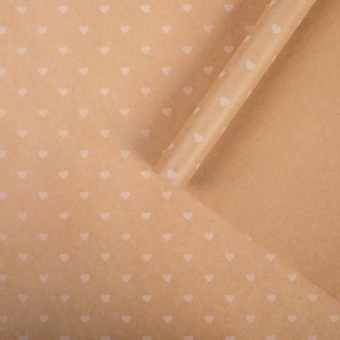 Бумага упаковочная крафтовая