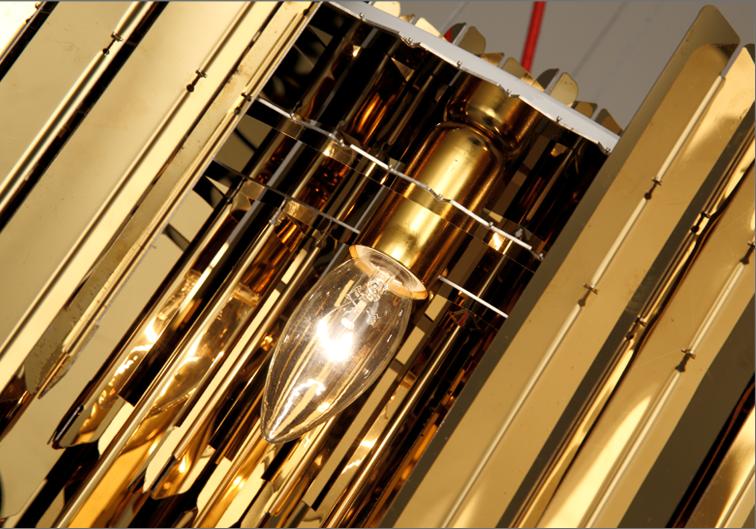 Подвесной светильник копия Tom Kirk Facet by Innermost D80 (2 уровня/серебряный)