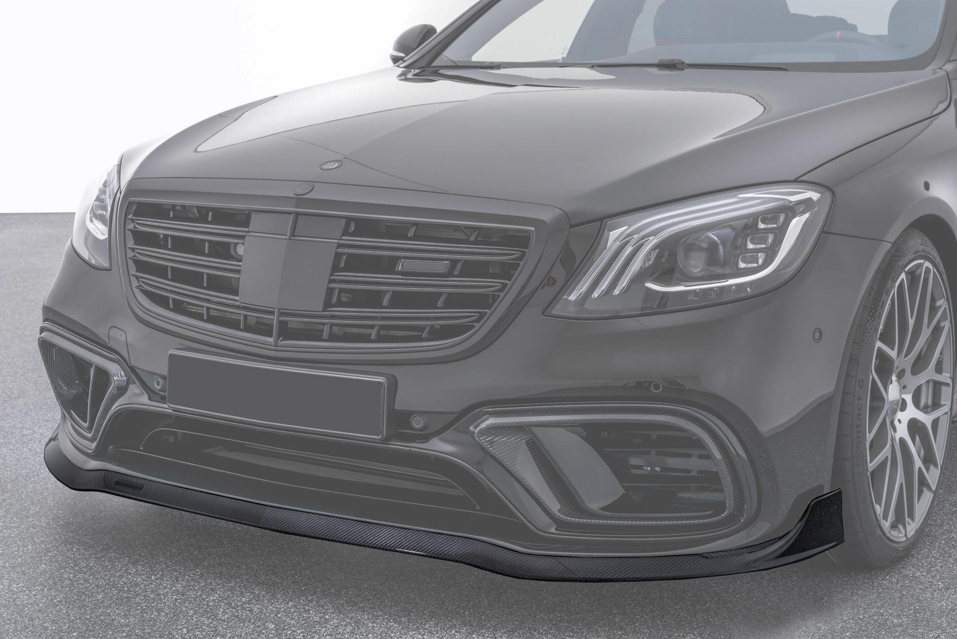 Спойлер переднего бампера  для Mercedes S63 AMG W222