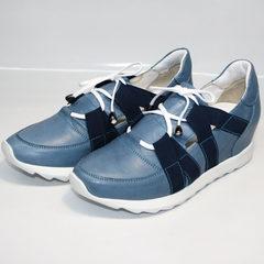 Обувь сникерсы женские Ledy West 1484 115 Blue.