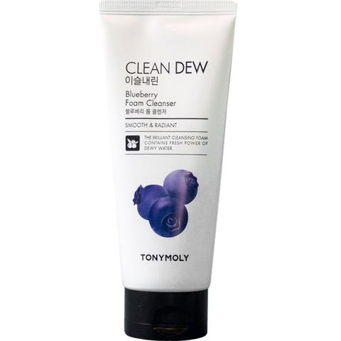 Tony Moly Clean Dew Foam Cleanser Blueberry пенка с черничным экстрактом