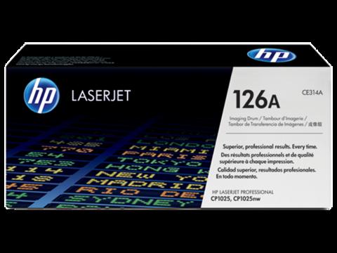 Оригинальный картридж HP CE314A (№126A), чёрный
