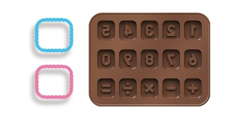 Формочки для шоколада Tescoma DELICIA KIDS