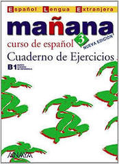Manana 3 Cuaderno de Ejercicios /Распродажа