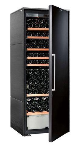 Винный шкаф EuroCave D Collection L чёрный, сплошная дверь, стандартная комплектация