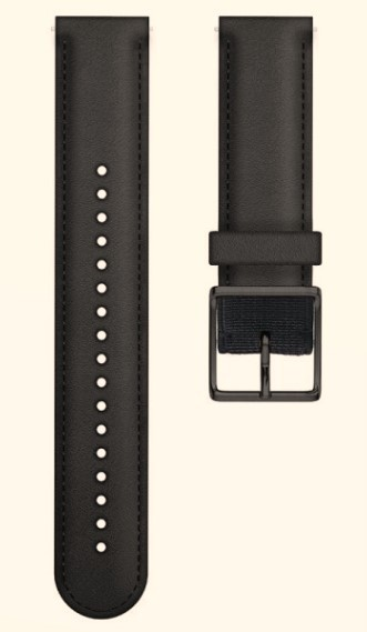 Ремешок для Polar Ignite Leather Black