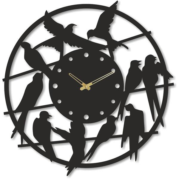 Настенные часы Михаил Москвин  Ласточки-2