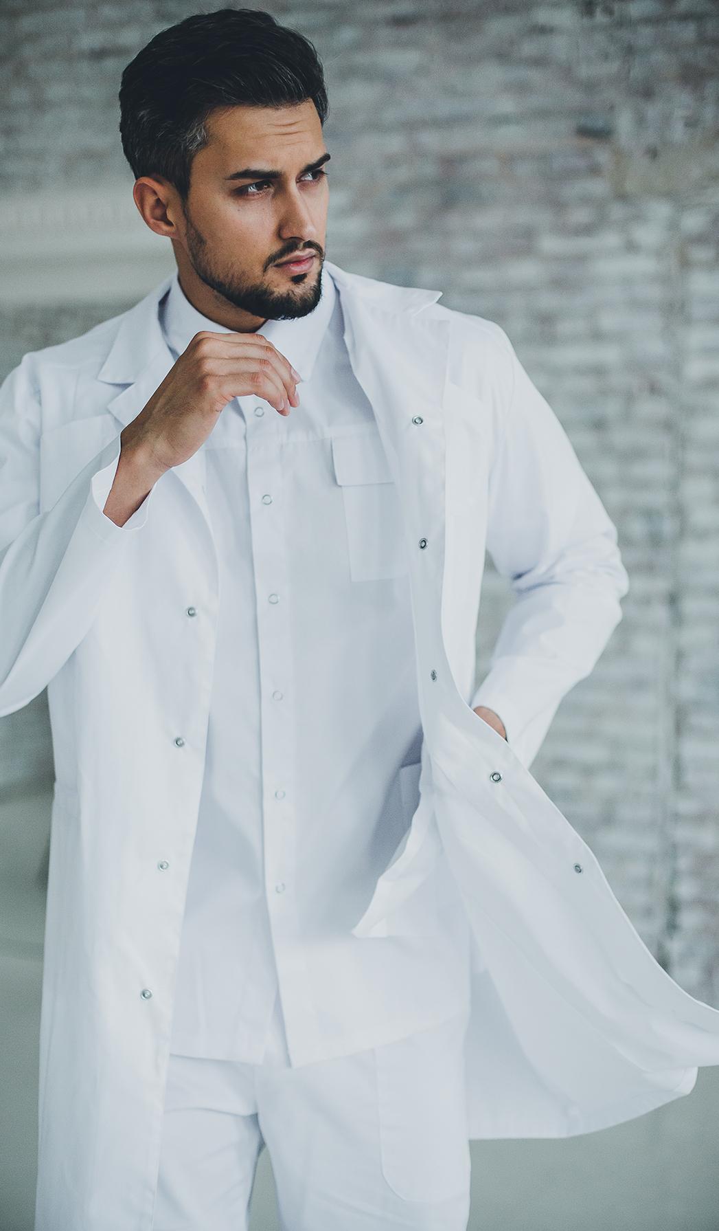 Халат мужской медицинский М 36