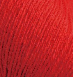 Пряжа Alize Baby Wool 56 красный