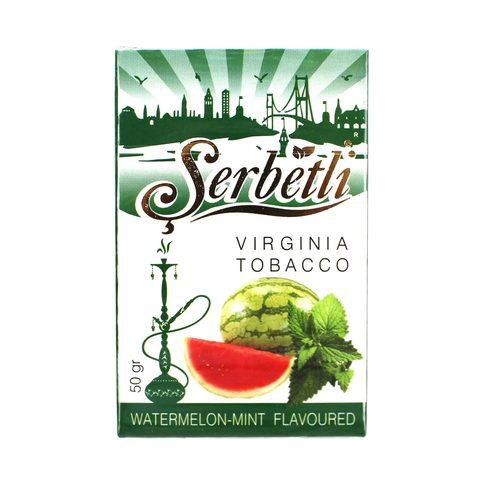 Табак для кальяна Serbetli Watermelon Mint 50 гр.