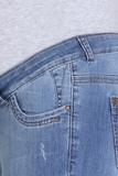 Джинсы для беременных 08843 синий