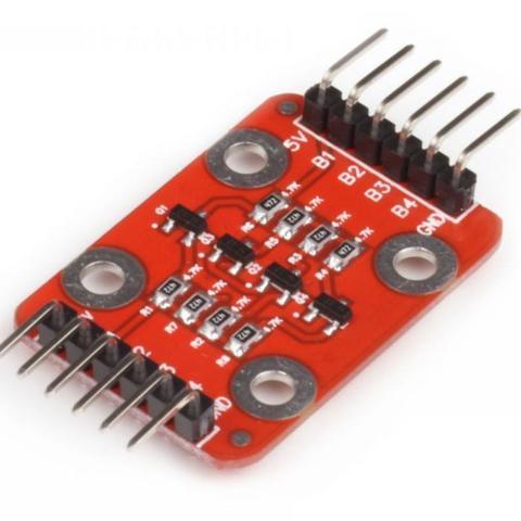 Двунаправленный 4-канальный преобразователь уровней (Quatro-модуль)
