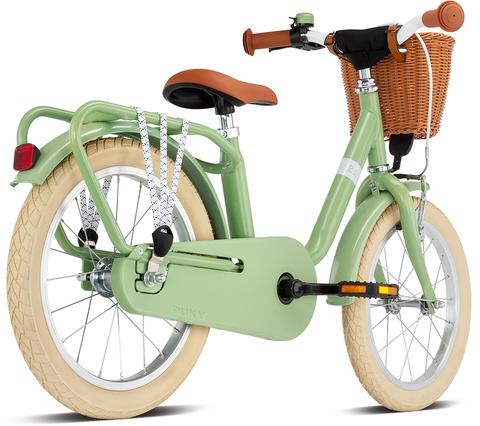 Двухколесный велосипед Puky STEEL CLASSIC 16 4233 retro green зеленый. 4+
