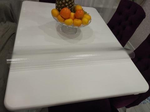 Коврик на глянцевый стол 90 х 90 см