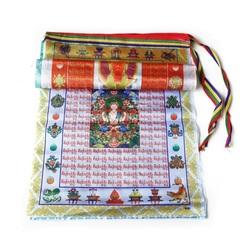 Тибетские флажки лунгта большие с буддами
