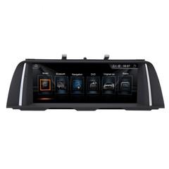 Монитор для BMW 5 F10/F11 2010-2013  Android 10 4/64GB IPS 4G модель TC 6208