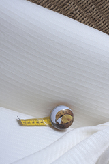 Бамбук, смягченный, фактурный, цвет молочный