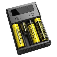 Зарядное устройство Nitecore Intellicharge i4 new, для 18650