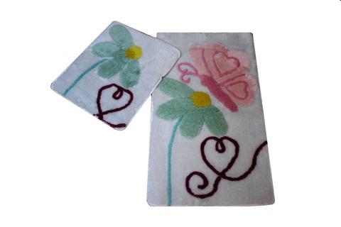 Комплект ковриков для ванной и туалета PONTE