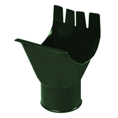 Воронка выпускная металлическая МеталлПрофиль МП Престиж 125 х 100
