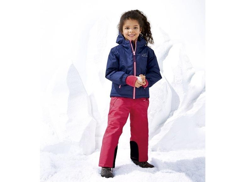 Куртка для девочки горнолыжная Lupilu